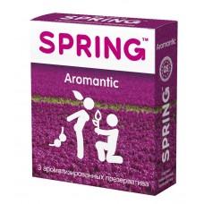 Ароматизированные презервативы SPRING AROMANTIC - 3 шт.
